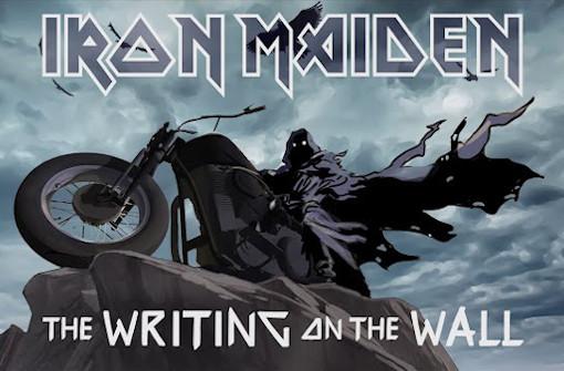アイアン・メイデン、新曲「The Writing On The Wall」のアニメーションMV公開