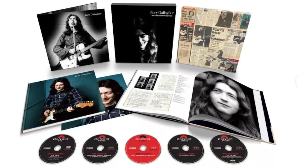 ロリー・ギャラガー1971年の初ソロ・アルバム『Rory Gallagher』、50周年記念エディション9月発売