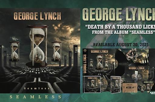 ジョージ・リンチ、初インスト・アルバム『Seamless』から「Death By A Thousand Licks」公開