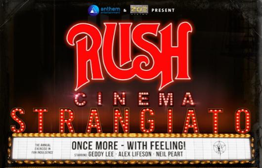 ラッシュ2019年のコンサート映画『Cinema Strangiato』、ディレクターズ・カット版が9月公開