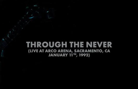 メタリカ、1992年に収録した「Through The Never」の未発表ライヴ音源とカヴァー・ヴァージョン、ウィーザーがカヴァーした「Enter Sandman」のMV公開