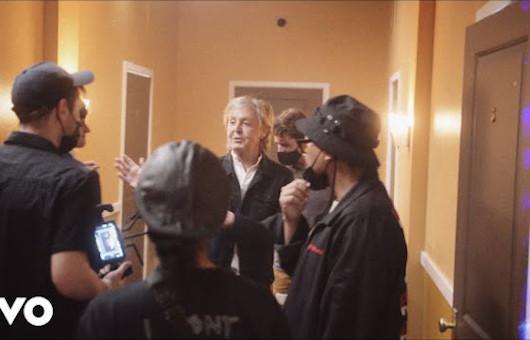 ポール・マッカートニー、ミュージック・ビデオ「Find My Way」の舞台裏映像公開
