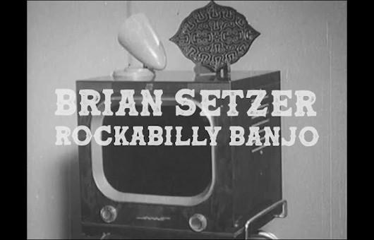 ストレイ・キャッツのブライアン・セッツァー、新ソロ曲「Rockabilly Banjo」のMV公開