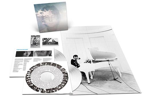 ジョン・レノン『イマジン』の発売50周年を記念し、9月10日に2枚組ホワイト・ヴィニール・ヴァージョンの発売が決定