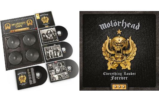 モーターヘッド史上最高にラウドな曲を集めた新ベスト盤登場。デラックス4LP版に加え2LP、2CD版も10月29日同時発売