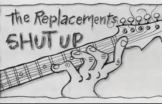 ザ・リプレイスメンツ、「Shutup」の新たなアニメMV公開