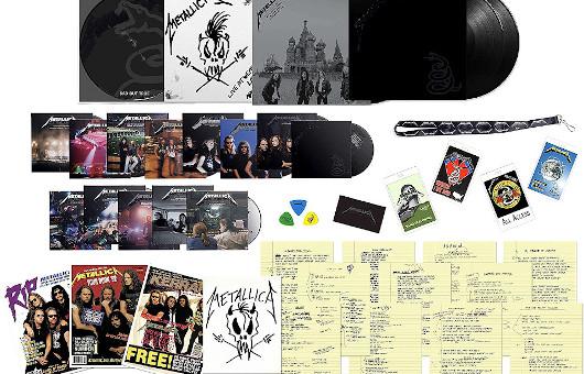 『メタリカ』(ブラック・アルバム)リマスター・デラックス・ボックス・セット本日リリース。本日9月10日は世界で「メタリカTシャツDAY」!