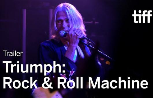 トライアンフのドキュメンタリー『Triumph : Rock & Roll Machine』トレーラー公開