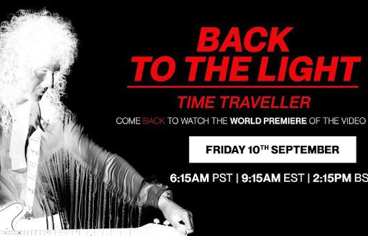 ブライアン・メイ「バック・トゥ・ザ・ライト」のフィジカル・リリースと最新ビデオを発表