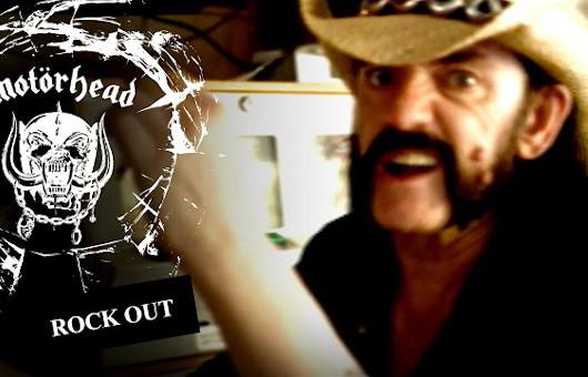 モーターヘッド、新ベスト盤から「Rock Out」のMV公開