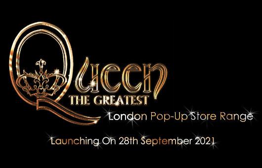 クイーンのポップアップ・ストア「Queen The Greatest」がロンドンにオープン