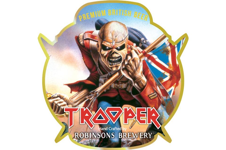 """発売から5年間で2000万パイントを売り上げたアイアン・メイデンの""""Trooper""""ビール"""