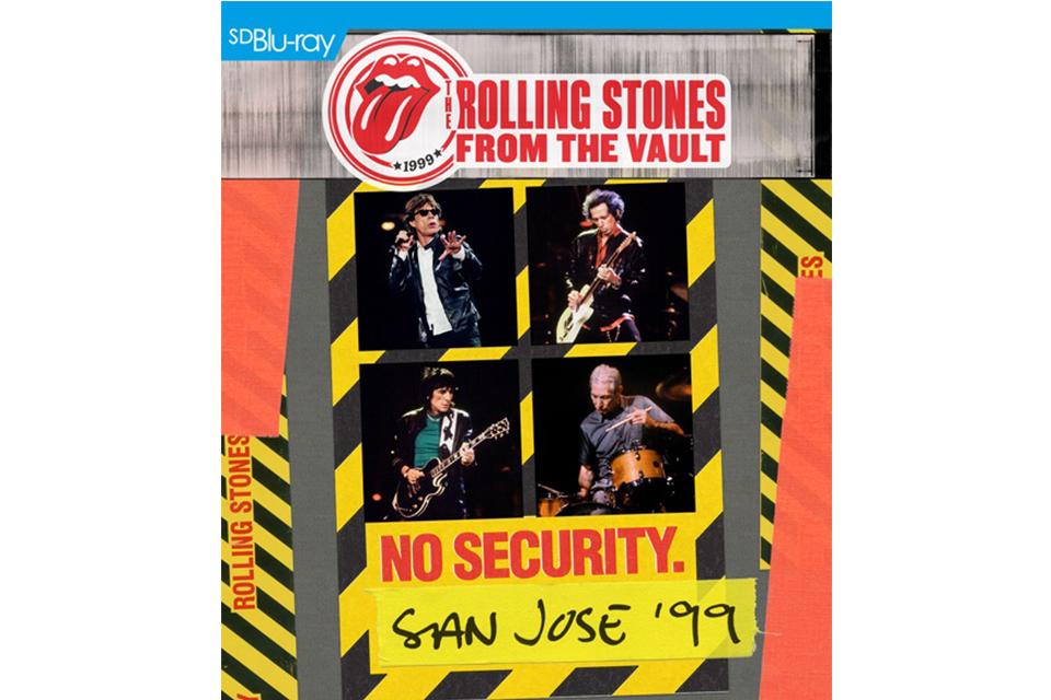 ストーンズが「From The Vault」シリーズの『No Security - San Jose 1999』を発売