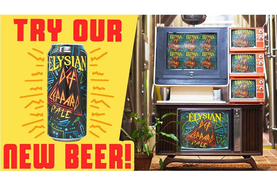 デフ・レパードが独自ブランドのビールを発表