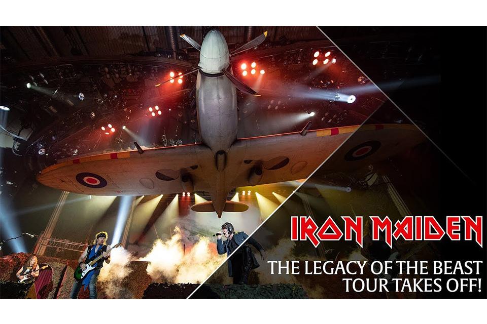 """アイアン・メイデンの""""Legacy Of The Beast ツアー""""がスタート"""