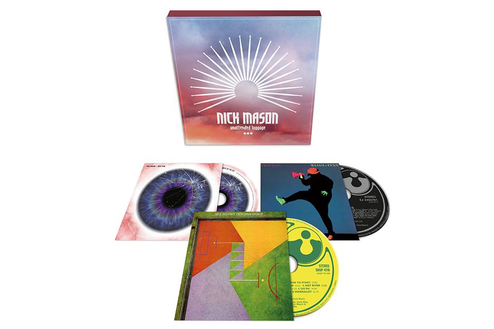 ニック・メイスンがソロ・ボックスセット『Unattended Luggage』をリリース