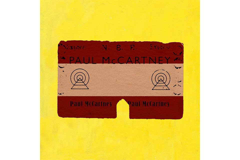 ポール・マッカートニーがニューアルバムのジャケットを公開?