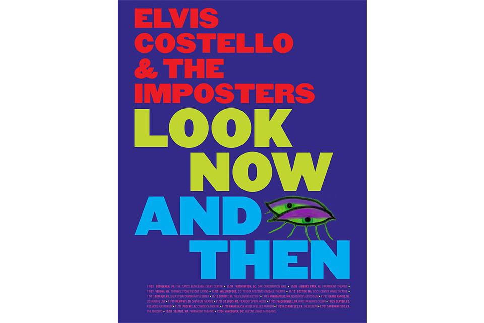 エルヴィス・コステロがニュー・アルバムをサポートする北米ツアーを発表