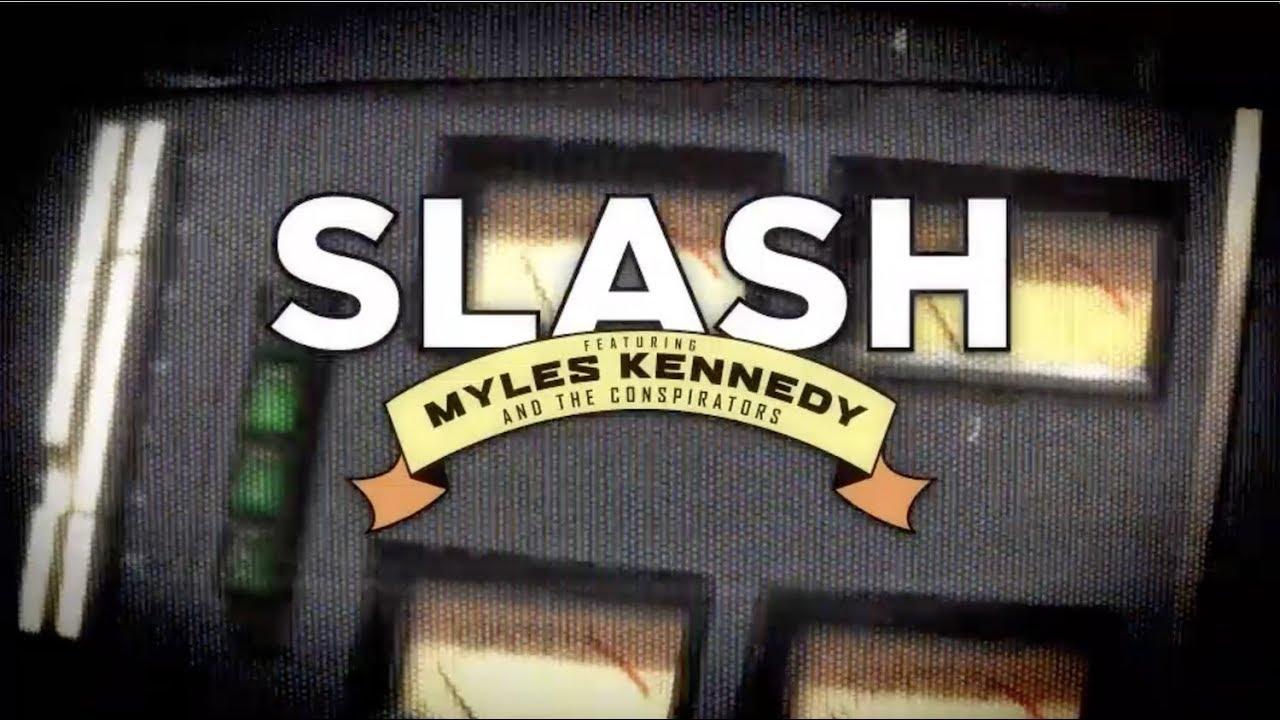 スラッシュがマイルス・ケネディ&ザ・コンスピレーターズとニュー・アルバムをサポートするツアーを発表