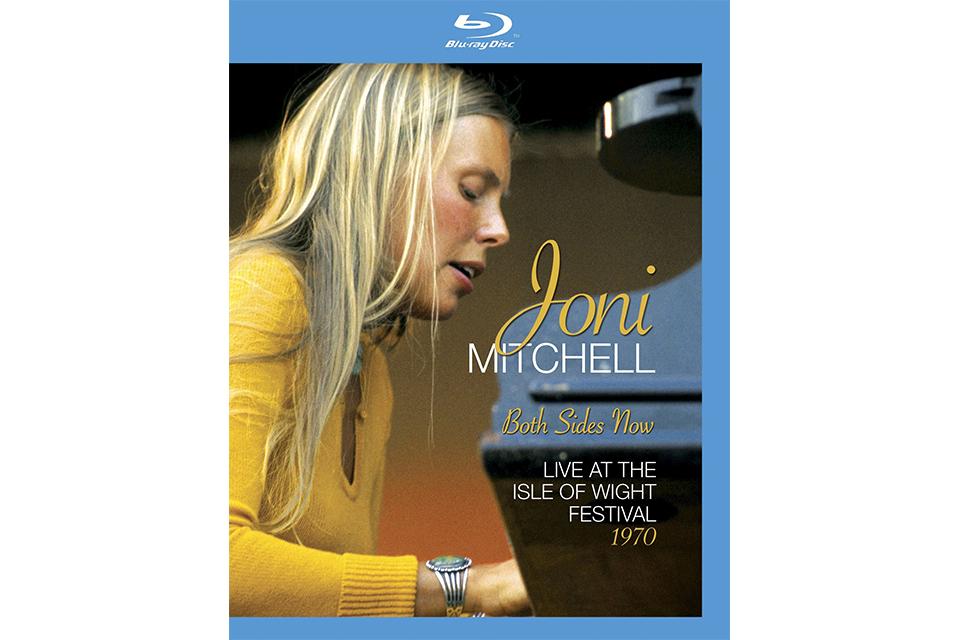1970年のワイト島フェスティバルに出演したジョニ・ミッチェルのドキュメンタリー映像が発売