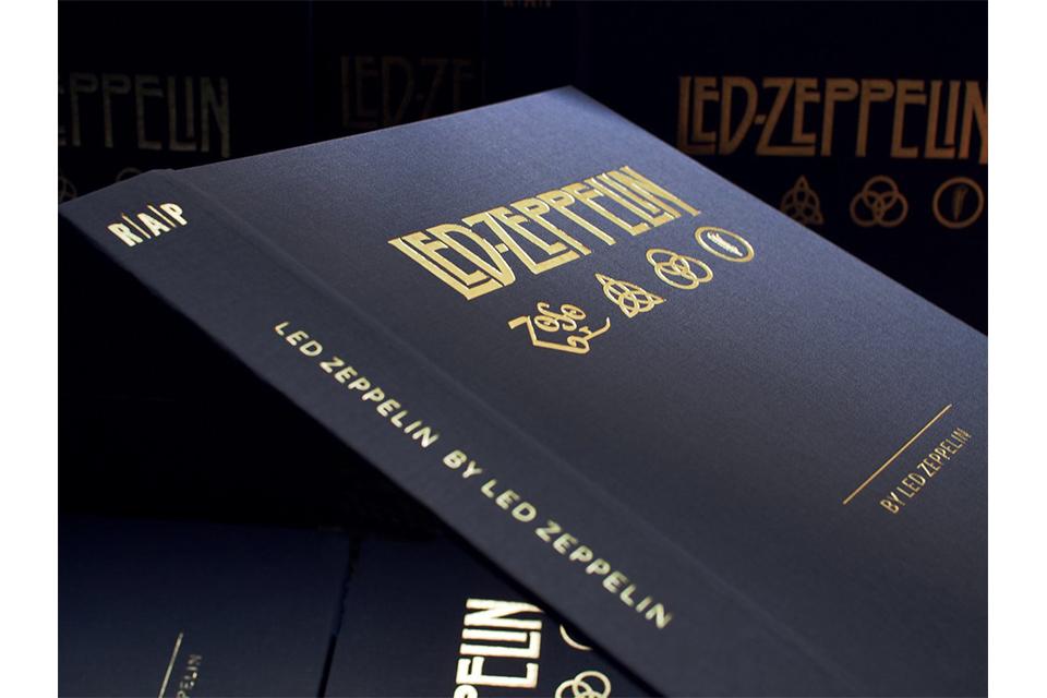 レッド・ツェッペリン50周年記念本の最新情報