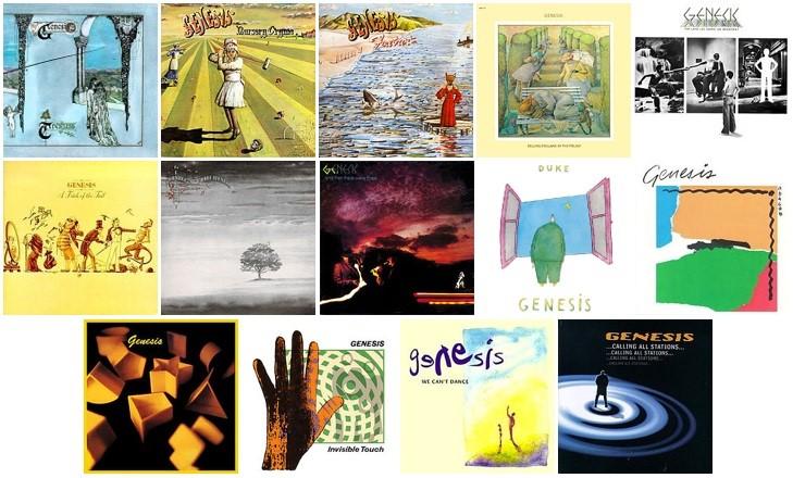 ジェネシスのスタジオ・アルバム14作品が180グラム重量盤アナログ盤で再発売!