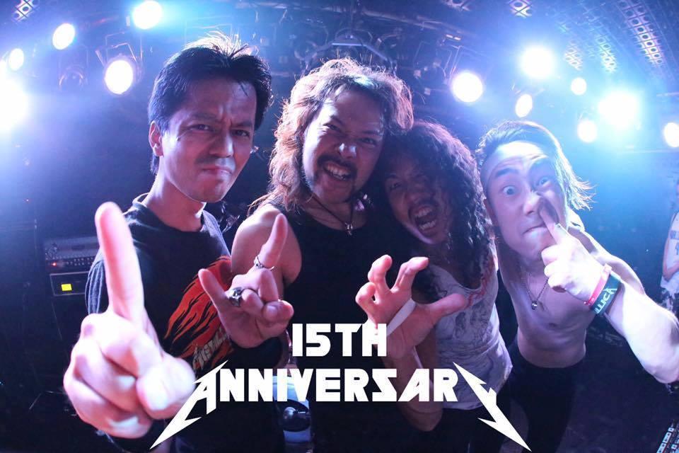 本家も公認したメタリカのトリビュートバンド HATTALLIKAが活動15周年、7月23日(月)、真夏の夜にワンマン・ライブを開催! 強力ゲストも参戦決定!