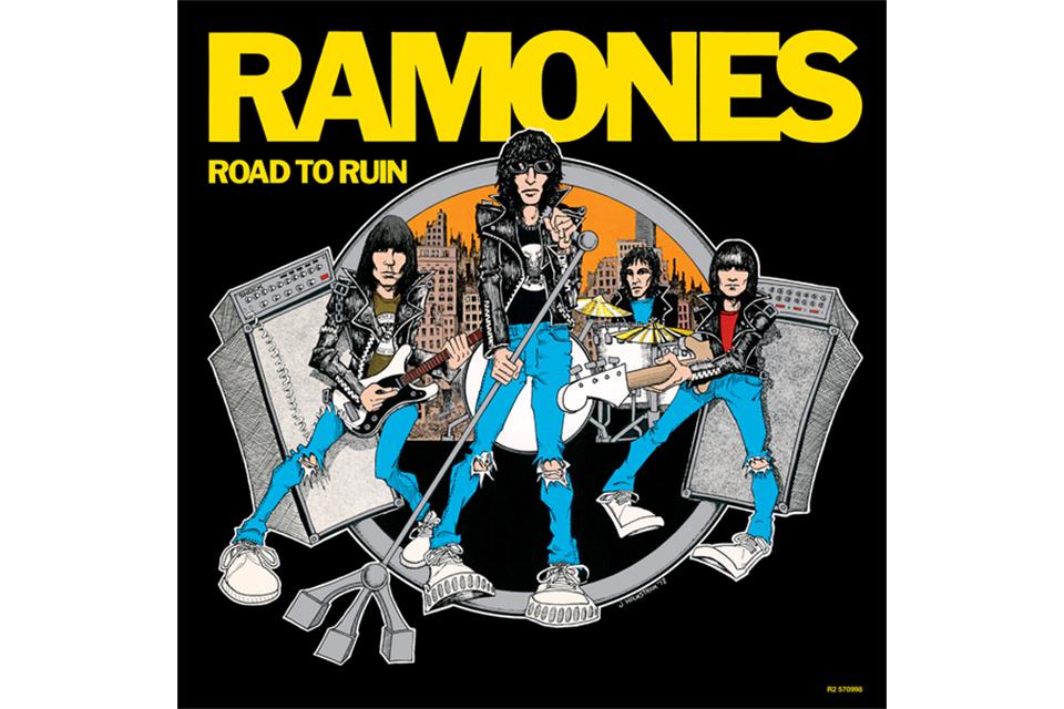 ラモーンズの『Road to Ruin』40周年を記念したデラックス・ボックスセットが発売