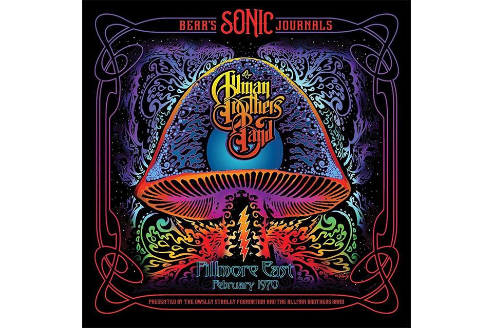 オールマン・ブラザーズ・バンドのライヴ・アルバム『Bear's Sonic Journals: Allman Brothers Band, Fillmore East February 1970』が発売