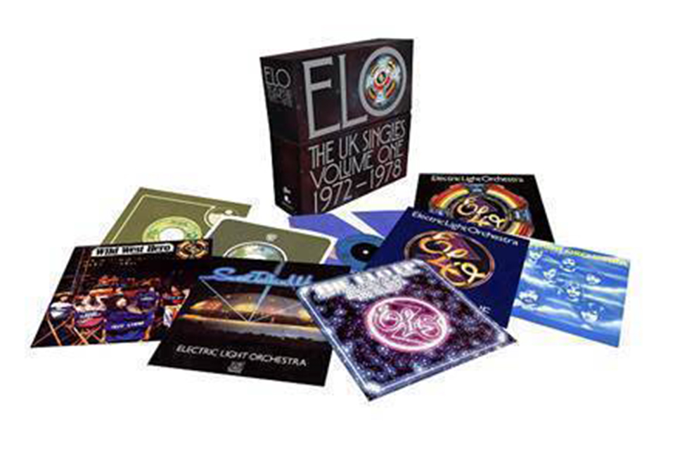 ELOが7インチ・シングルのボックスセット『The U.K. Singles Volume One: 1972-1978』を発売