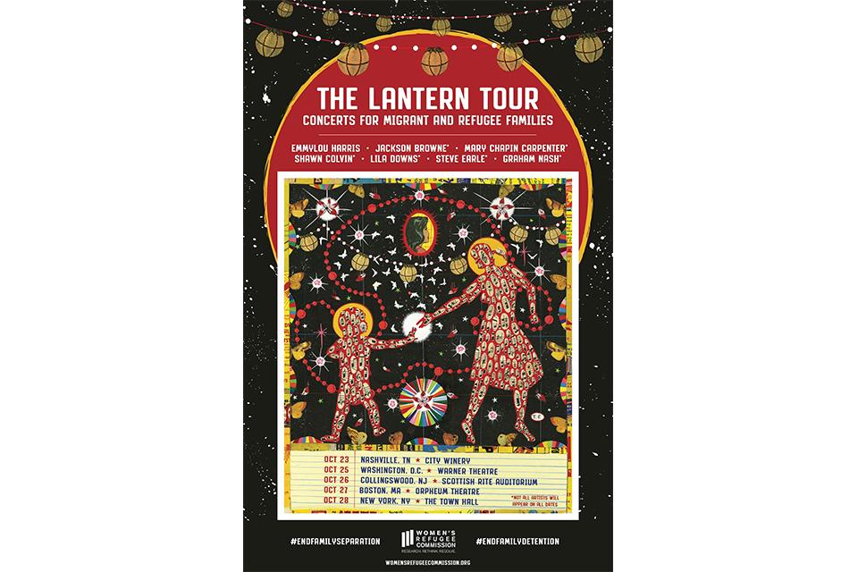 移民と難民のためのコンサート、ザ・ランタン・ツアーが10月開催