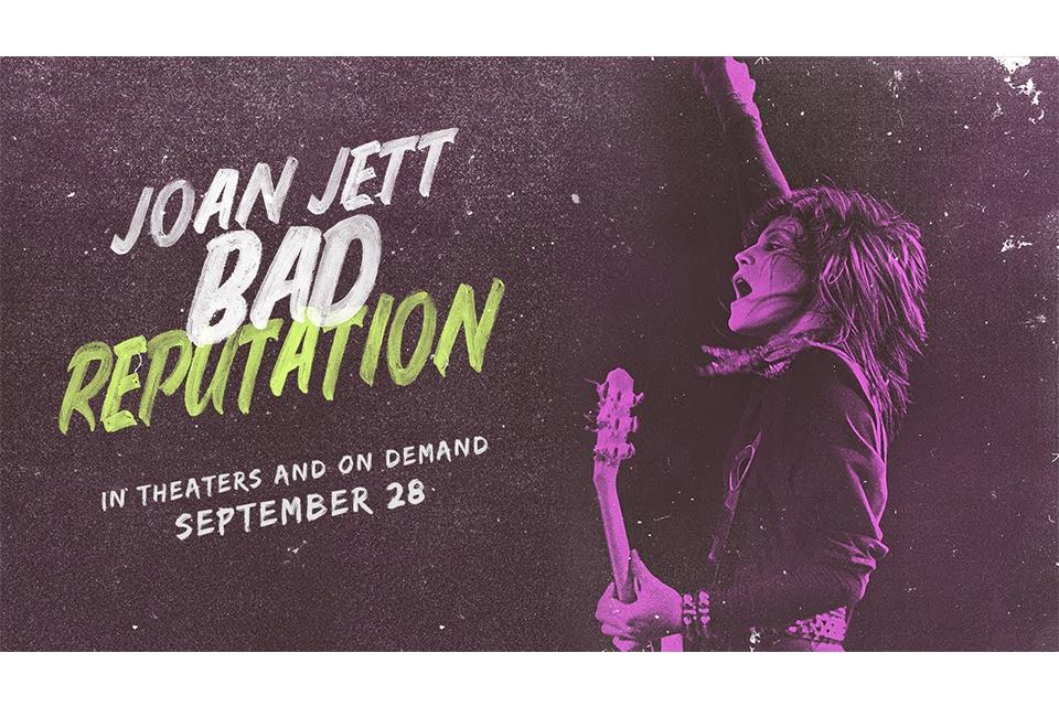 ジョーン・ジェットのドキュメンタリー映画『Bad Reputation』、新しいトレーラー映像が公開