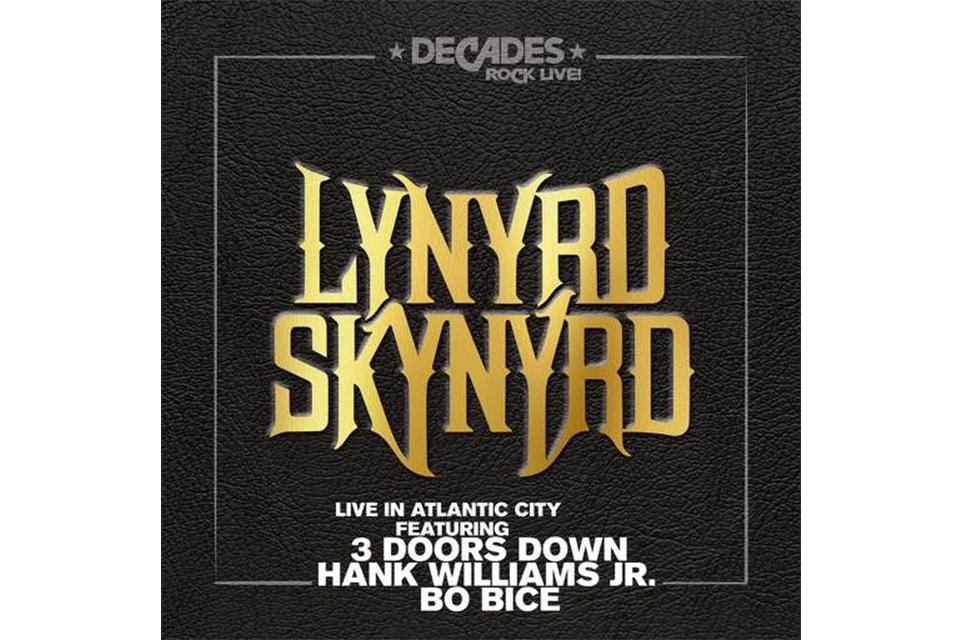 レーナード・スキナードの『Live In Atlantic City』が9月に発売