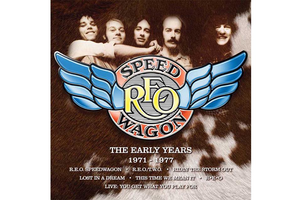 REOスピードワゴンのボックスセット『The Early Years 1971-1977』が発売