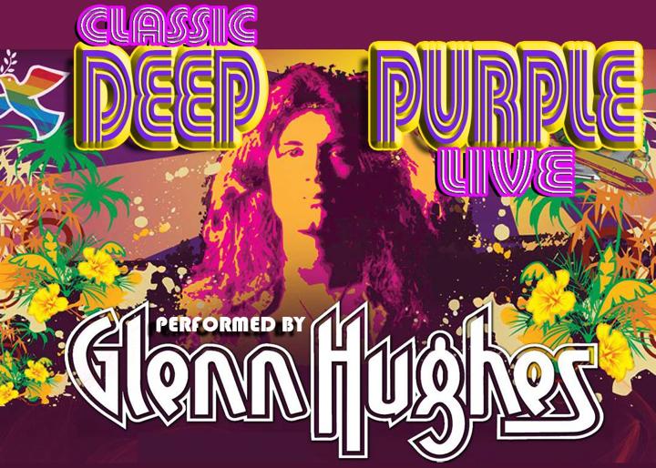 """グレン・ヒューズがアメリカで""""Deep Purple Live""""ツアー"""