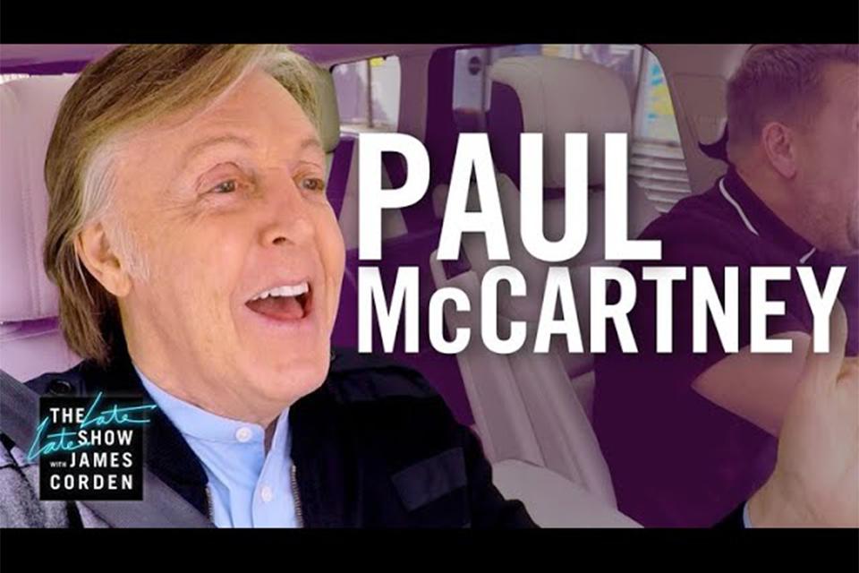 ポール・マッカートニーが出演した『Carpool Karaoke』の特番が放送決定