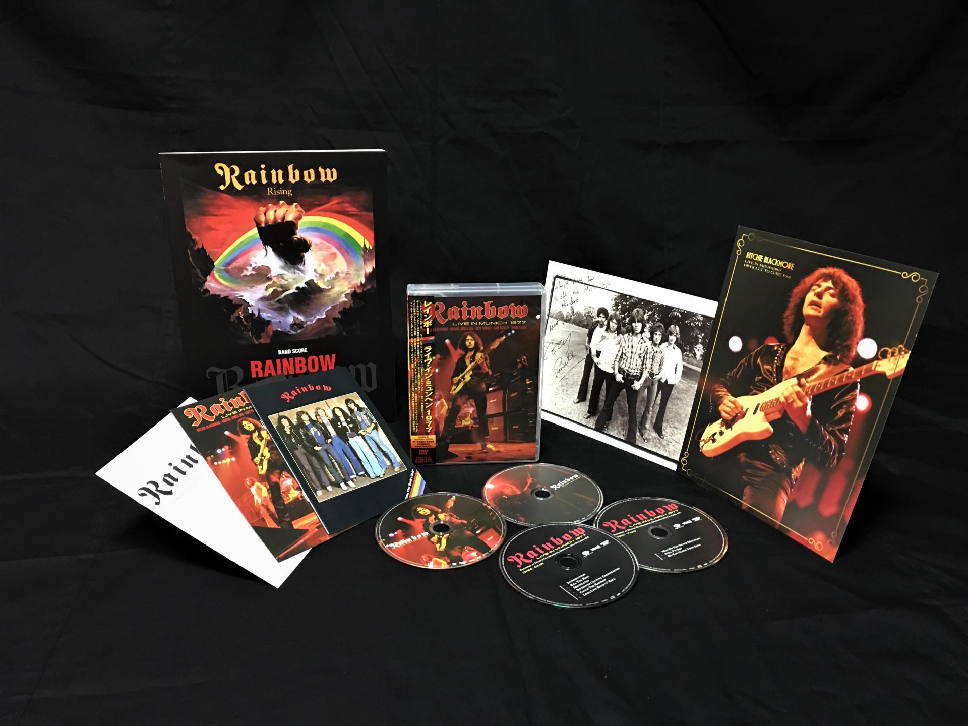 レインボー・トリビュート・セット(バンドスコア+CD&DVD)
