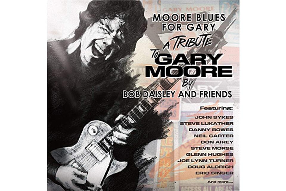 ゲイリー・ムーアのトリビュート・アルバムから3曲が試聴可能
