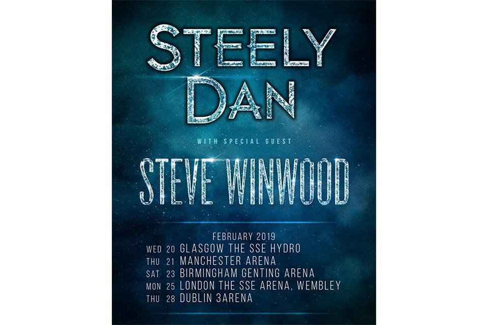 スティーリー・ダンが来年のUK/アイルランド・ツアーを発表