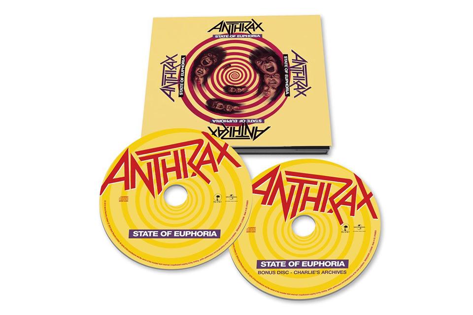 アンスラックス『ステート・オブ・ユーフォーリア』発売30周年を記念して、デラックス・エディションを発売