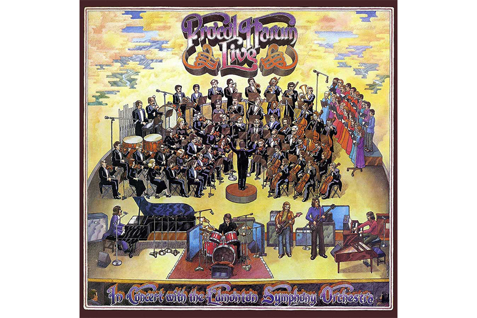 プロコル・ハルム、1971年のライヴ・アルバムが豪華盤になって再登場