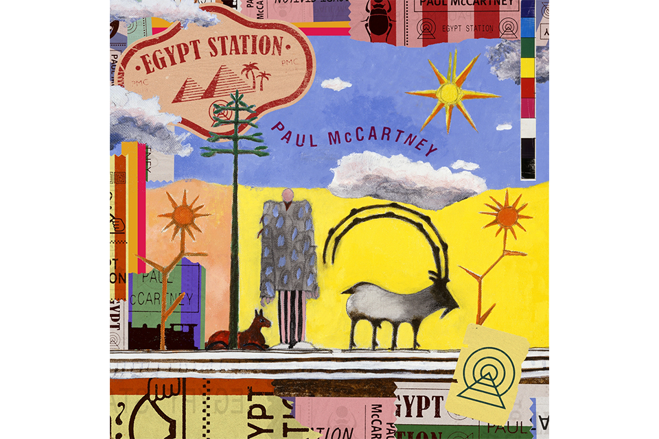 ポールの新作『Egypt Station』がビルボード・アルバム・チャートで第1位を獲得