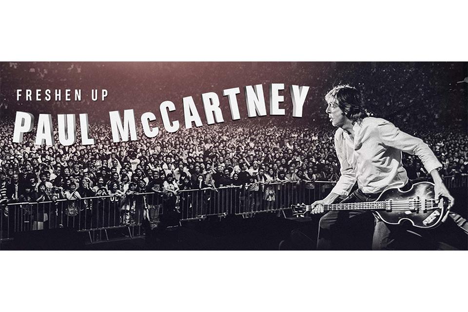 ポール・マッカートニーの「Freshen Up」ツアーに新たな追加公演が決定
