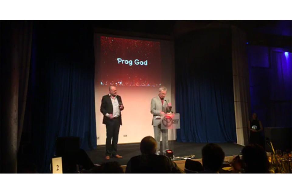 スティーヴン・ウィルソン、スティーヴ・ハウらがプログレッシブ・ミュージック・アワード受賞
