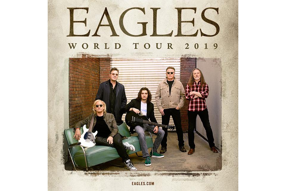 イーグルスが2019年のUK/ヨーロッパ・ツアーを発表