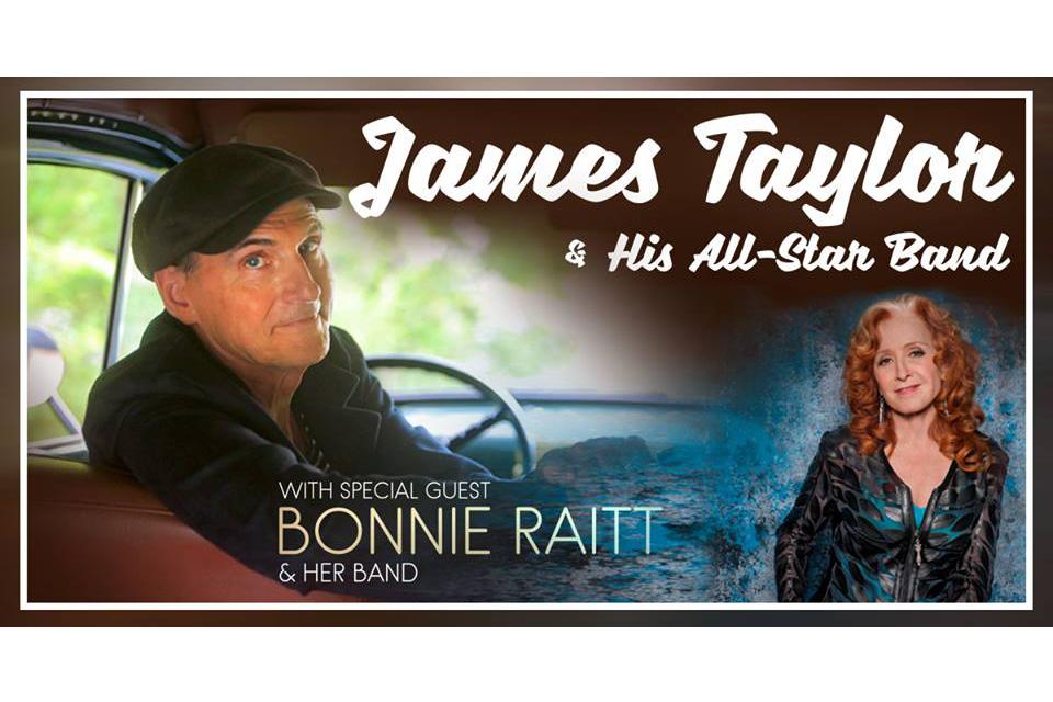 ジェイムス・テイラーとボニー・レイットが2019年のツアーを発表
