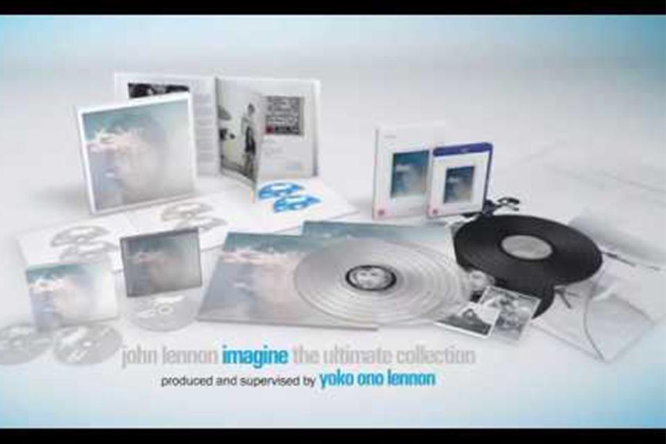 ジョン・レノン『イマジン:アルティメイト・コレクション』開封動画が公開。佐野史郎からコメントも到着