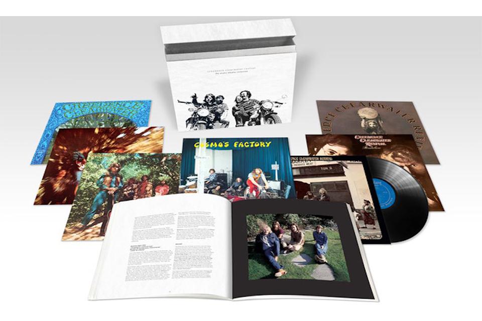 CCRの全スタジオ・アルバムを収録したデラックス・ボックスセットが発売