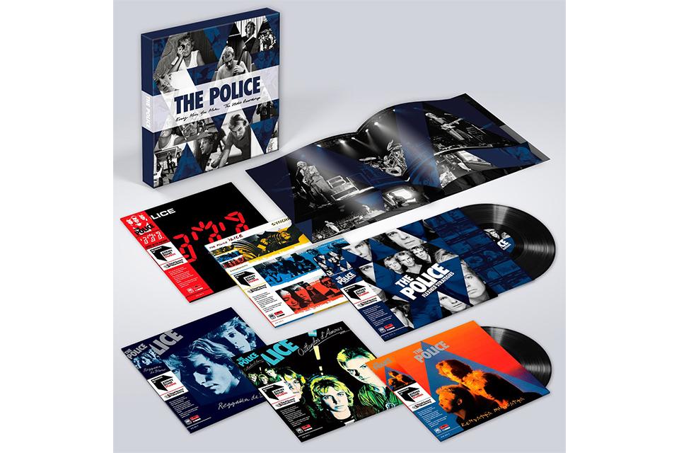 ポリスの全作品を収録した限定のLPボックス・セットが、11月16日に発売決定!