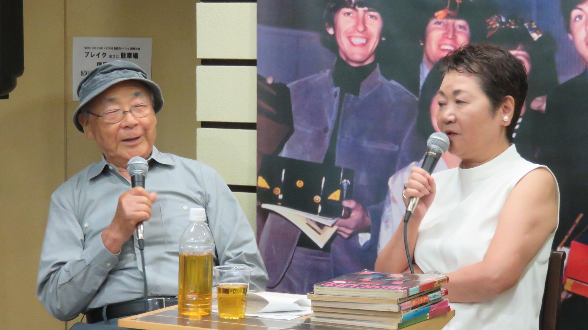 MUSIC LIFE CLUB発足記念 東郷かおる子トークイベント・レポート PART 2